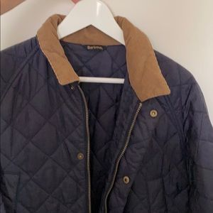 Barbour, quilted coat